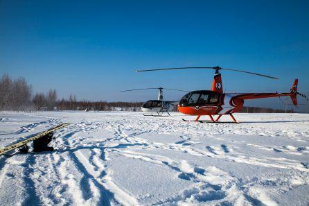 """Морозный день в СК \""""Хабарское\"""""""