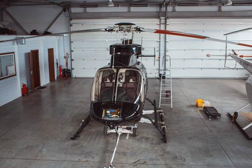 базирование вертолета